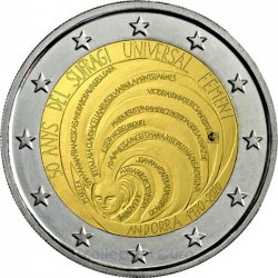 Coin Commemorative Andorra 2020