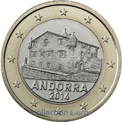 Coins andorra of 1