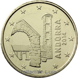 Coins andorra of 0.50