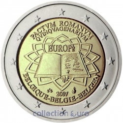 Area Euro coin of Euro 2€ 2007