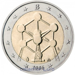 Coin Commemorative Belgium 2006
