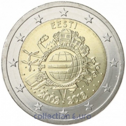 areaeuro coin of Euro 2€ 2012