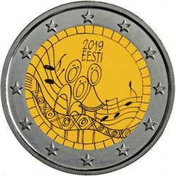 commemorative coin of Euro 2€ 2019