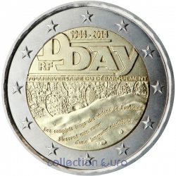 Commemorative coin of Euro 2€ 2014