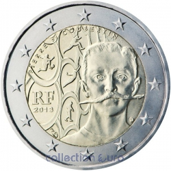Coin Commemorative France 2013