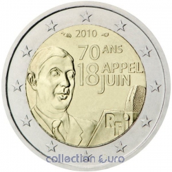 Coin Commemorative France 2010