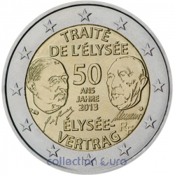 Area Euro coin of Euro 2€ 2013