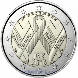 Coin Commemorative France 2014