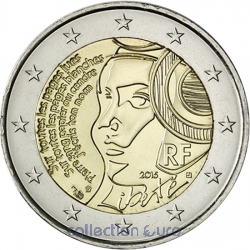 Commemorative coin of Euro 2€ 2015