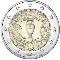 Commemorative coin of Euro 2€ 2016