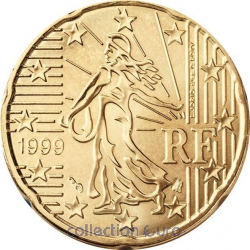 Common currency of the Euro in France