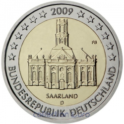 Coin Commemorative Germany 2009