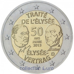 areaeuro coin of Euro 2€ 2013
