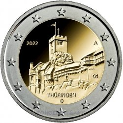 commemorative coin of Euro 2€ 2022