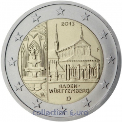 commemorative coin of Euro 2€ 2013