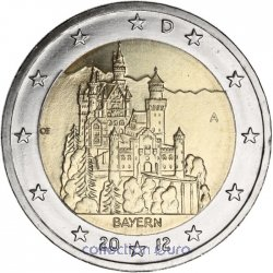 Coin Commemorative Germany 2012