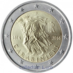 Coin Commemorative Italy 2014