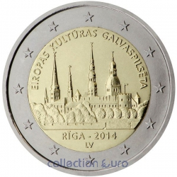 Coin Commemorative Latvia 2014