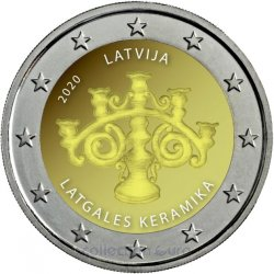 Coin Commemorative Latvia 2020