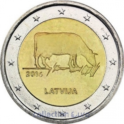 Coin Commemorative Latvia 2016