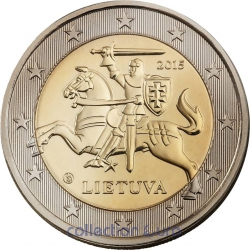Coins lithuania of 2