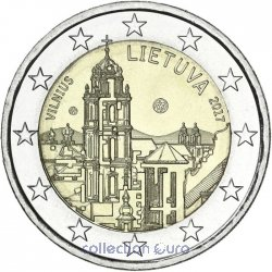 Coin Commemorative Lithuania 2017