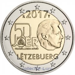 Coin Commemorative Luxembourg 2017