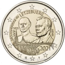 commemorative coin of Euro 2€ 2021