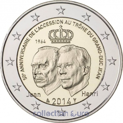 Coin Commemorative Luxembourg 2014