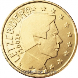 Coins luxembourg of 0.50