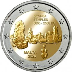 Coin Commemorative Malta 2020
