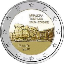 Coin Commemorative Malta 2018