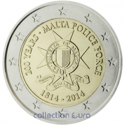 Coin Commemorative Malta 2014