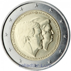 Coin Commemorative Netherlands 2014