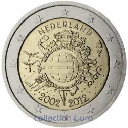Coin Area Euro Netherlands 2012