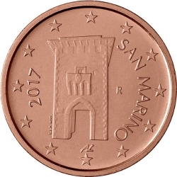 Common currency of the Euro in San Marino