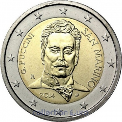 Coin Commemorative San Marino 2014