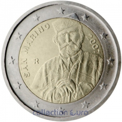 Commemorative coin of Euro 2€ 2007