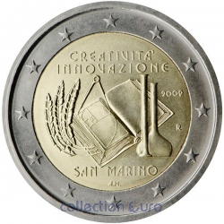 Coin Commemorative San Marino 2009