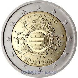 Coin Commemorative San Marino 2012