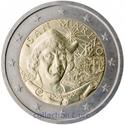 commemorative coin of Euro 2€ 2006