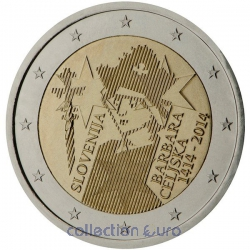 Coin Commemorative Slovenia 2014