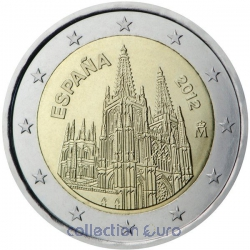 Coin Commemorative Spain 2012