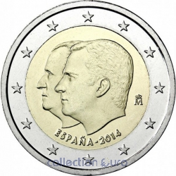 Coin Commemorative Spain 2014