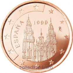 Coins spain of 0.02