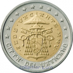 Coins vatican of 2