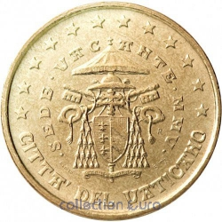 Coins vatican of 0.50