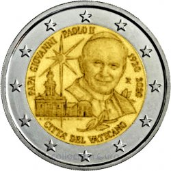 Coin Commemorative Vatican 2020