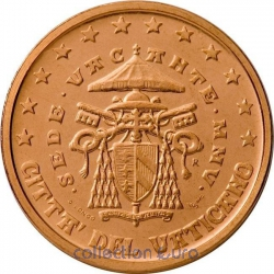 Coins vatican of 0.02
